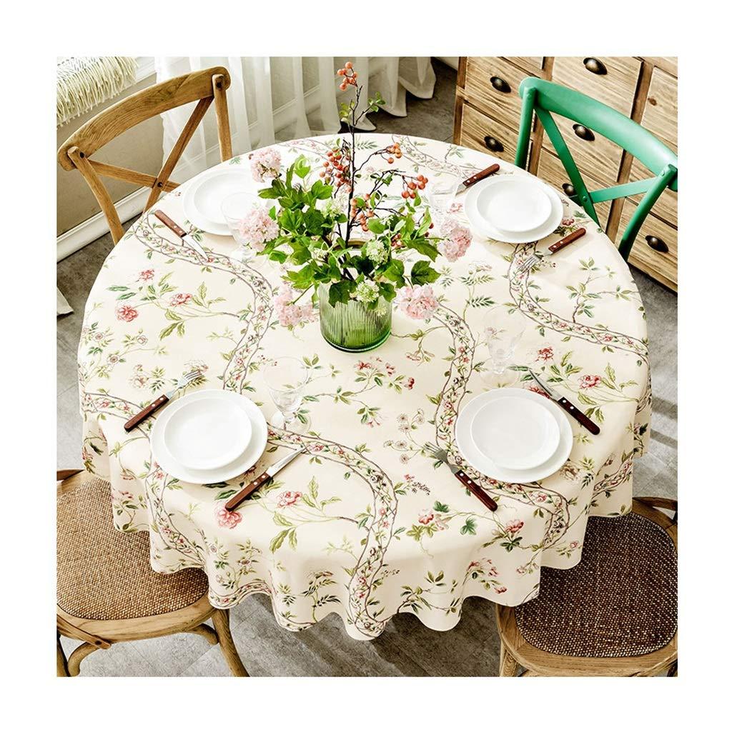 ラウンドテーブルクロス 大きなラウンドテーブルクロス現代のシンプルさ家庭用レストランテーブルカバーテーブルクロスウェディングパーティーの装飾テーブルクロス テーブルクロス (サイズ さいず : Round-220cm) Round-220cm  B07RT9JFWB
