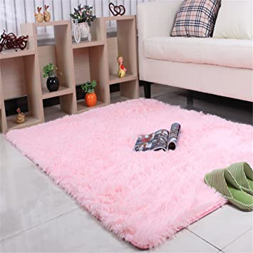 Amazon Com Meng Ge Cozy Shag Collection Solid Shag Rug Contemporary
