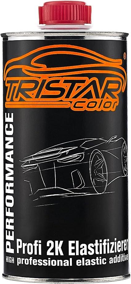 Tristarcolor Elastifizierer Weichmacher Elastic Additiv Für 2k Füller Autolack Und Klarlack 0 5 Liter Auto