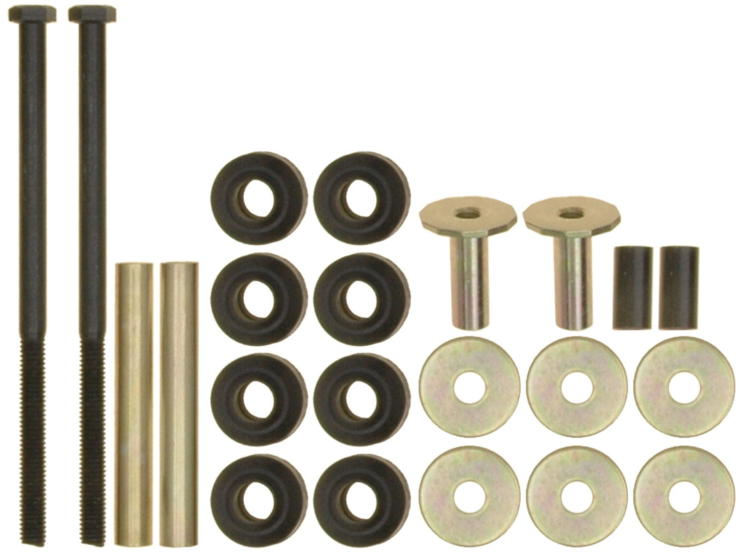 ACDelco 45G2017 Professional Front Suspension Stabilizer Bar Link Kit with Hardware
