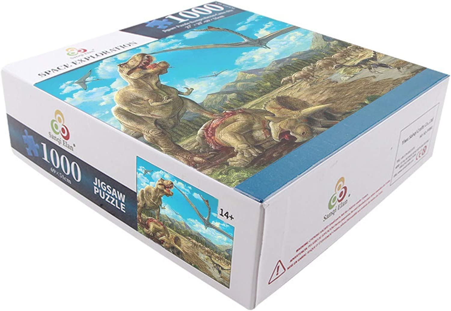 Amazon.com: Xinghe 1 Box Puzzle, 1000 Pieces of Adult ...