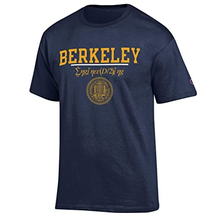 89d00f37765d Amazon.com : Shop College Wear UC Berkeley Cal Champion Men's Engineering T- Shirt-Navy : Sports & Outdoors