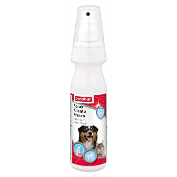 Beaphar - Spray Aliento Fresco Dog-a-dent, 150 ml