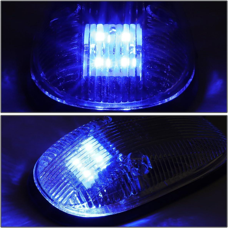 For 94-98 Dodge Ram 1500//2500//3500 DNA Motoring CBL-DR94-SM-B LED Cab Roof Top Marker Lights X 5