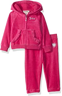 4f5c61d1a Amazon.com  Juicy Couture Baby Girls 2 Pieces Tunic Legging Set-Faux ...
