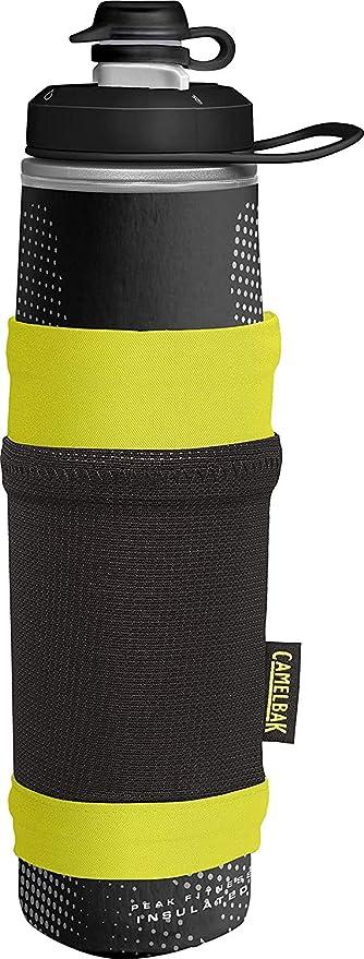 Camelbak Unisex Peak Fitness Chill 500ml Bottle Black Sports Gym Outdoors