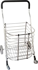 HOMZ Premium Foldable Tote Cart, 17.5