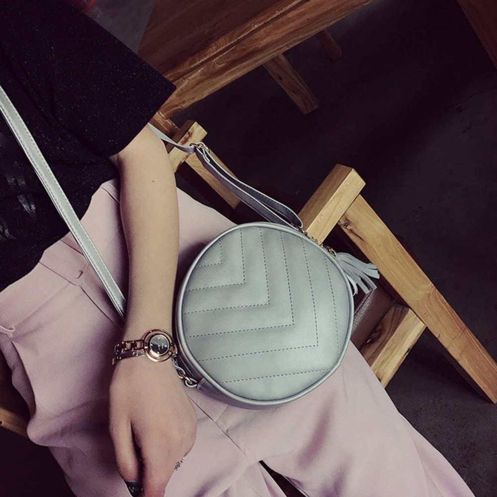 Purse Bags for Women GreatGiftList Shoulder Bag for Women Handbag Organizer Small Women Fashion Handbag Tassel Shoulder Bag Large Tote Ladies Purse Bags