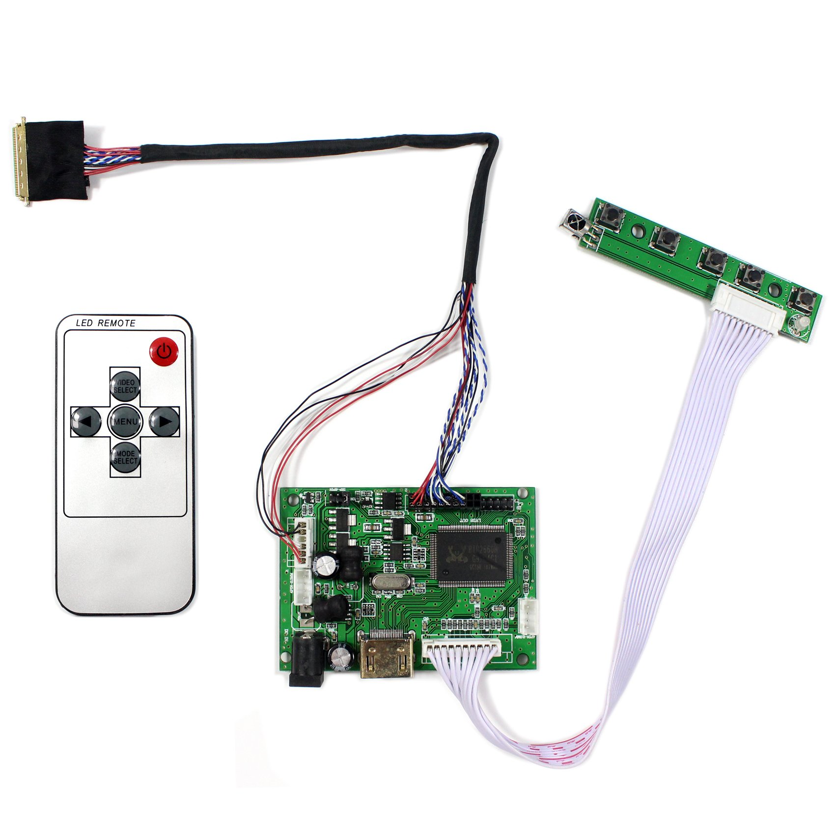 VSDISPLAY HDMI LCD Controller Board Work For 14'' 15.6'' LTN140AT02 LP156WH4 B156XW02 1366x768 40Pin LCD Panel