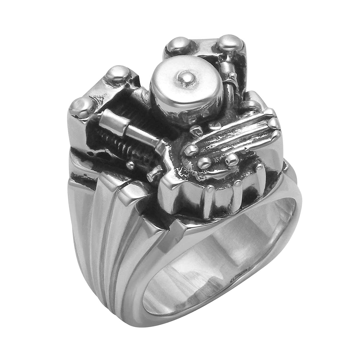 Wild Things Solid Sterling Silver Knucklehead Ring