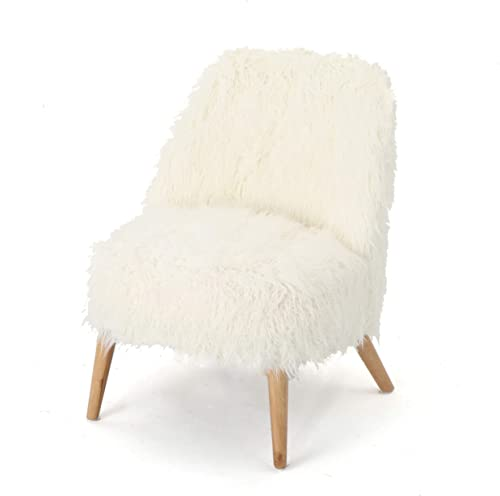 Christopher Knight Home Cheryiie Faux Fur Accent Chair