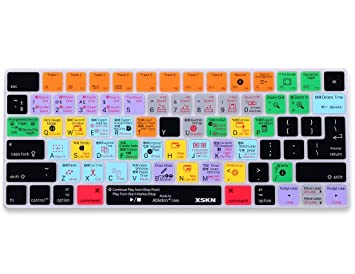 Funda XSKN para teclado Apple Magic Keyboard MLA22B/A con accesos directos Ableton: Amazon.es: Electrónica