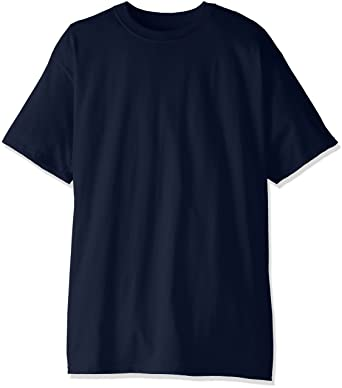 fd259ca6 Hanes Men's Tall Short-Sleeve Beefy T-Shirt (Pack of Two): Amazon ...