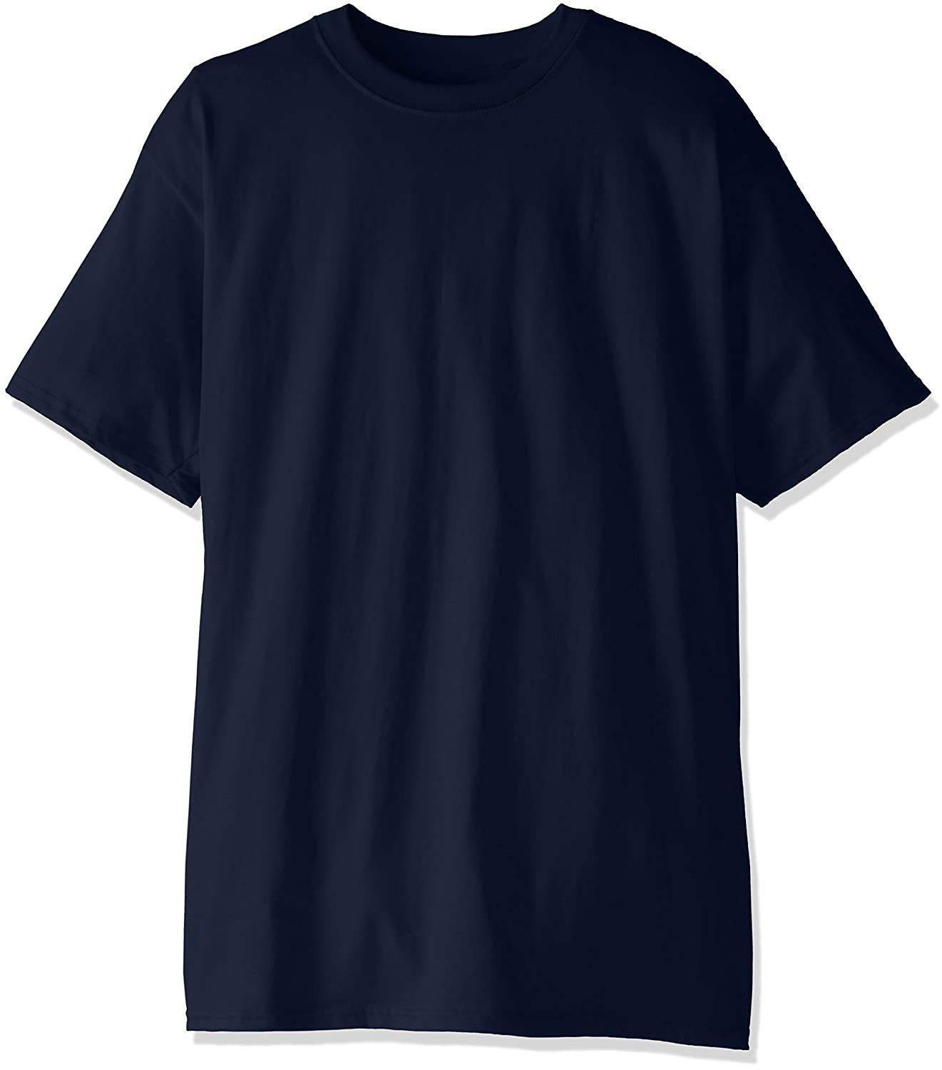 Hanes Mens Size Tall Short-Sleeve Beefy T-Shirt Pack of Two