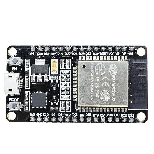 ESP-32 Development Board WiFi+Bluetooth   Dual core chip by SquadPixel Barebones at amazon