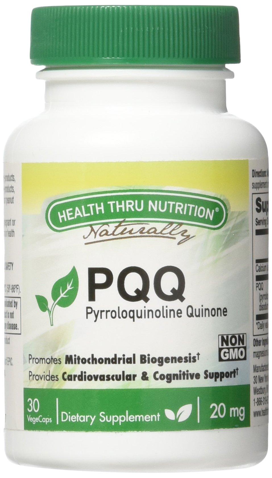 PQQ 20mg (Pyrroloquinoline Quinone) 30 vegecaps