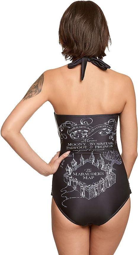 HARRY POTTER Costume da Bagno per Donna Stemma Elbenwald