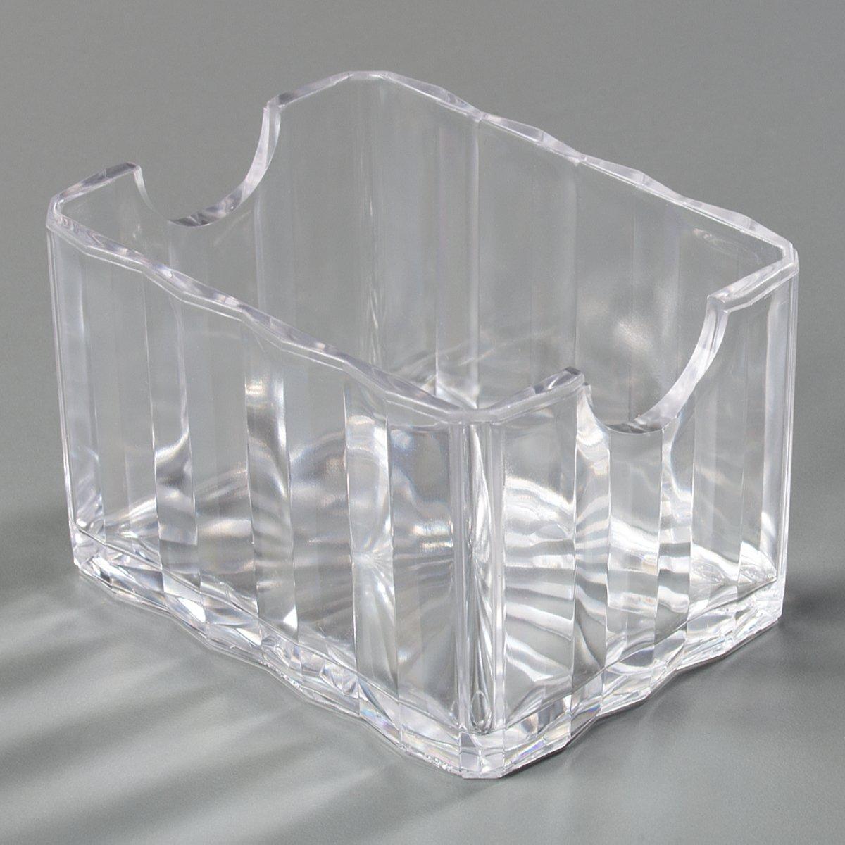 Carlisle (454907) Crystalite Sugar Packet Caddys, Set of 24 (3-3/8-Inch x 2-18/32-Inch x 2-1/8-Inch, SAN, Clear)