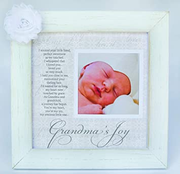 Grandma S Joy Picture Frame With Poetry Amazon Ca Baby