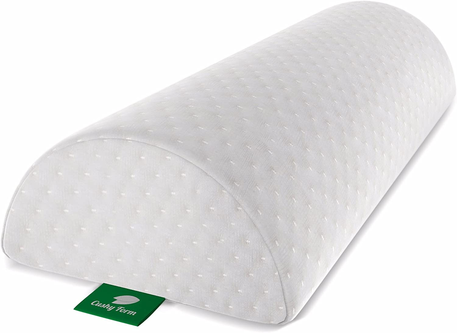 Amazon.com: Knee Pillow for Back Pain   Half Moon Bolster Pillow