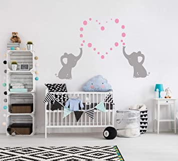 bdecoll nursery wall decals baby boy or girl bedroom decoration