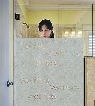 Badezimmerfenster Blickdicht sichtschutzfolie wellness dusche bad fenster blickdicht
