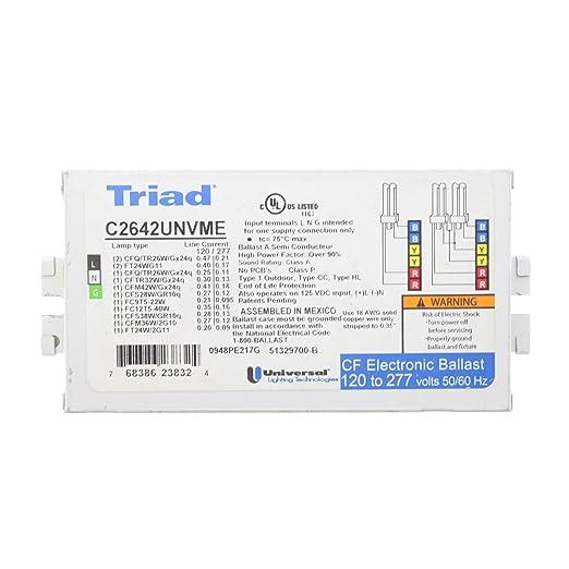 Amazon Com Universal C2642unvme Triad Compact Fluorescent