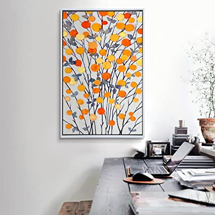 Amazon.com: Wall paintings WAN SAN QIAN- Art Modern With White ...