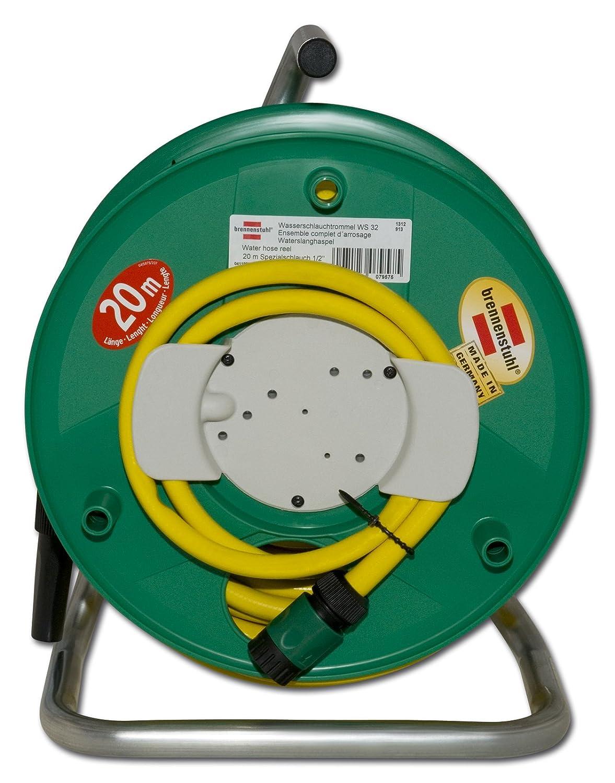 Brennenstuhl Wasserschlauchtrommel WS32 (20m - - - Spezialkunststoff - Made In Germany) grün B002IJO32C | Elegant und feierlich  341078