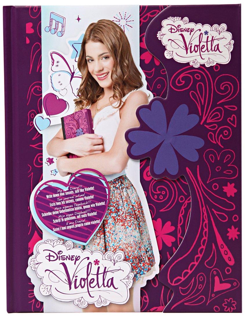 Disney - 05180 - Loisirs Créatifs - Violetta - Journal Intime - Fermeture Magnétique