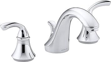 Kohler 507081 Forte Bathroom Sink Faucet Polished Chrome Touch On Bathroom Sink Faucets Amazon Com