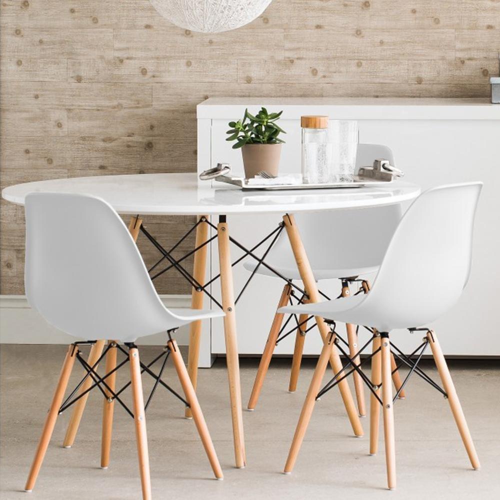 Reihe von Tisch 100 + 4 Stühle Tower: Amazon.de: Küche & Haushalt