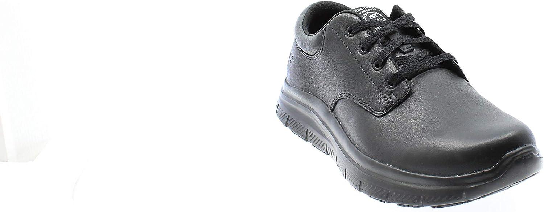 Zapatos de Vestir par Uniforme para Hombre Skechers Flex Advantage Sr Fourche