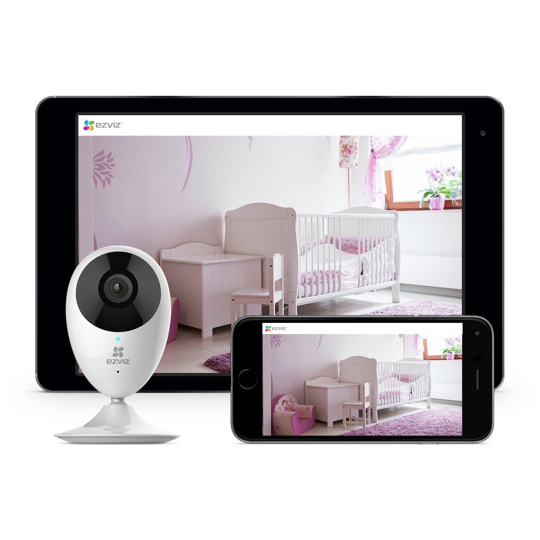 EZVIZ Mini O 720p HD Wi-Fi Home Video Monitoring Security Camera, Works with Alexa - Three Pack by EZVIZ (Image #7)