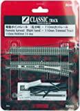 (One with pre-cut 110mm rail) 1 bottle Z gauge R040 110mm point rail right branch (japan import)
