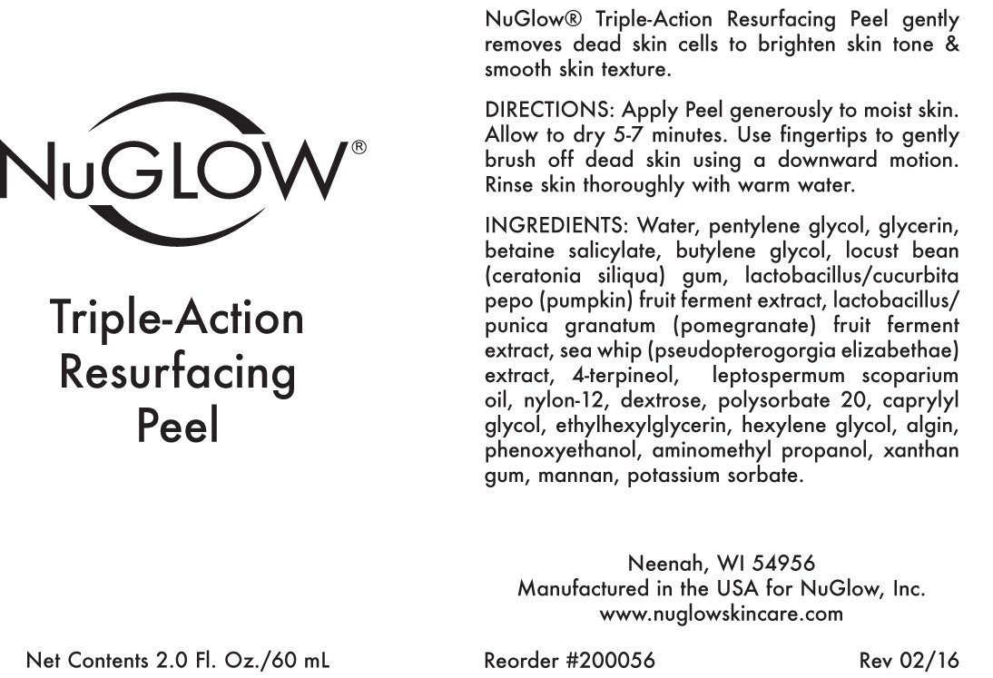 Amazon.com: nuglow triple-action Resurfacing Peel: Beauty