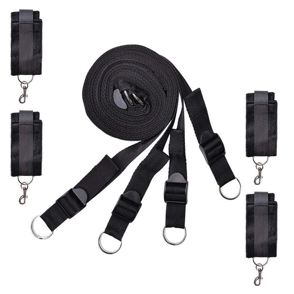 Under the Bed Restraints straps with adjustable movement straps for and New
