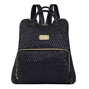 1f3ea6626a5a1 Amazon.com : SoHo Collections Springfield Baby Diaper Bag Backpack with Changing  pad Stroller Straps Insulated Pockets 3 Pieces Set (Black) : Baby
