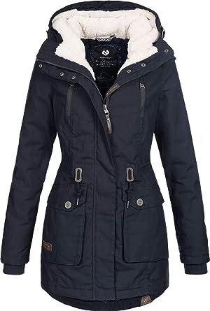 Jacke Damen Schwarz 1010 Black Ragwear Elsa 1821 60040 ZiuOTPkX