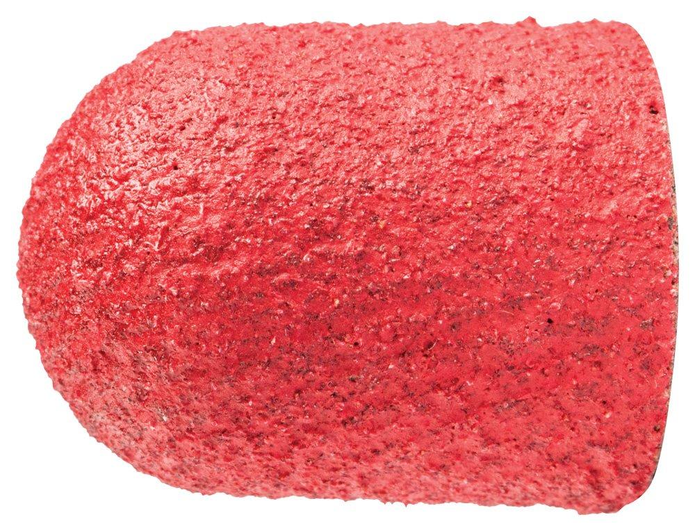 Ceramic Oxide Grain CO-Cool Pack of 50 PFERD 46126 Policap Abrasive Cap Shape C 1//2 Diameter x 11//16 Length 120 Grit