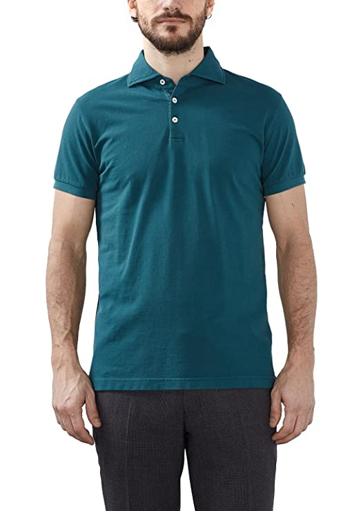 ESPRIT Collection 027eo2k005 Polo, Verde (Emerald Green), Small ...