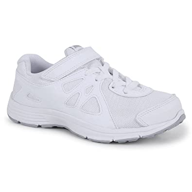 3d0ef1c80669 Nike White School Shoes- Sports Shoes Kids Range (3 to 11 Years)   Amazon.in  Shoes   Handbags