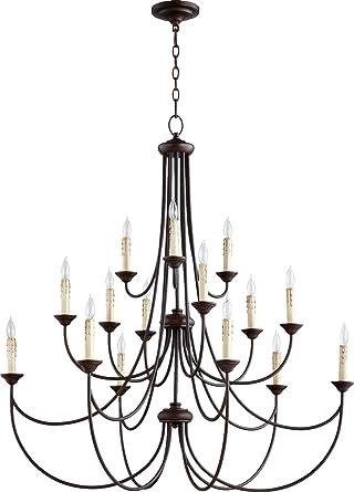 3 tier chandelier 18 light quorum lighting 62501586 brooks tier chandelier lighting 15lt 15lt