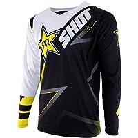 SHOT maillot Contacto réplica Rockstar 3.0, Negro/Blanco/Amarillo, talla