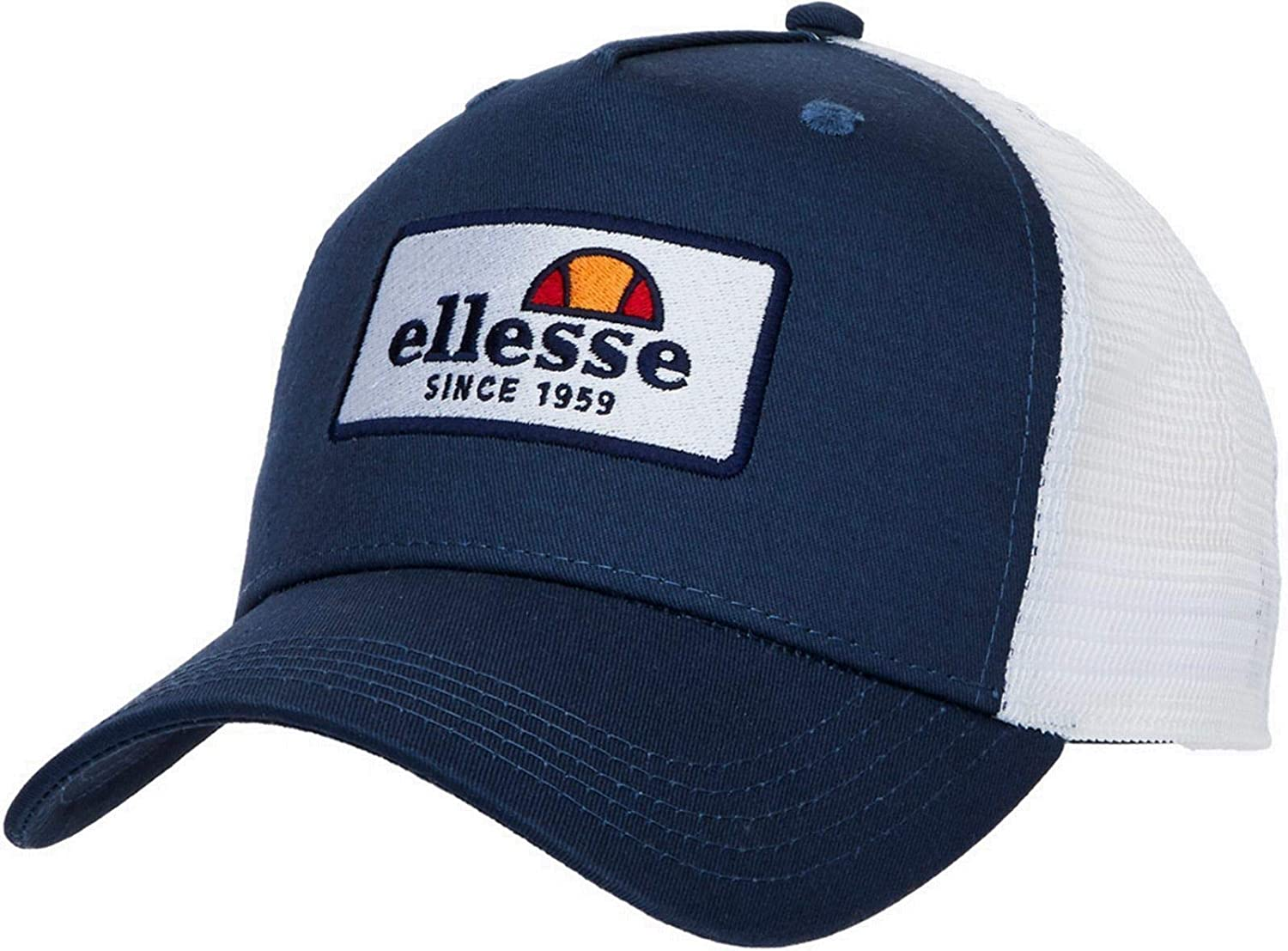 141e961b29c67f ellesse Hemmy Mesh Trucker Baseball Cap Navy: Amazon.co.uk: Clothing