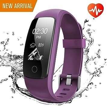 Pulsera Actividad, Runme Reloj Deportivo con Monitor de Frecuencia Cardíaca: Amazon.es: Electrónica