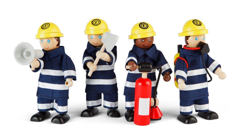 Mentari Spielzeug-Feuerwache - Tidlo Feuerwehrmänner