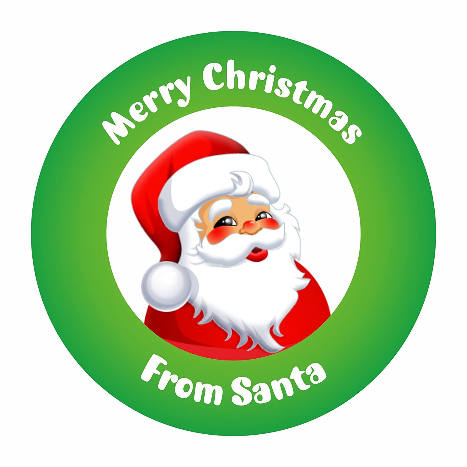 Merry Christmas Gift.Merry Christmas From Santa Christmas Gift Labels Stickers