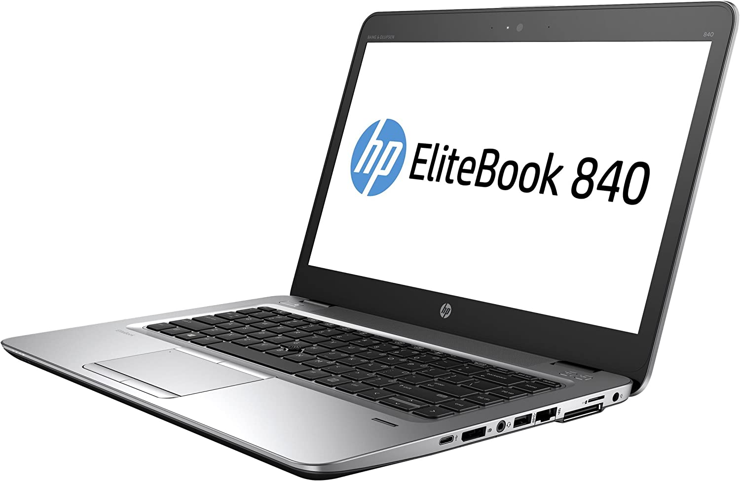 "HP Elite Book Business 840 G3 T6F45UT#ABA Laptop (Windows 7 Pro, Intel Core i5-6200U, 14"" OLED Screen, Storage: 128 GB, RAM: 8 GB) Black/Grey"