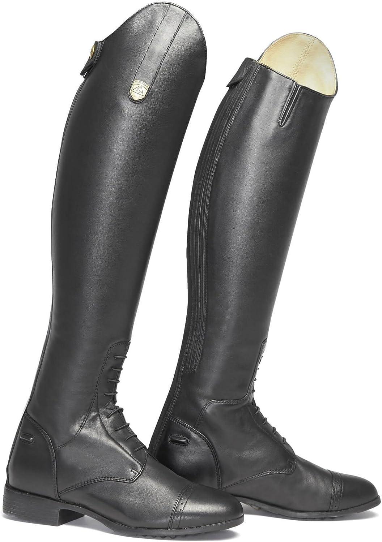 Chaussures d/équitation pour homme noir Noir Mountain Horse